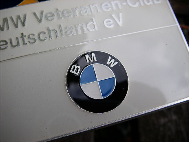 bmw deutschland german bmw veterans club badge out of. Black Bedroom Furniture Sets. Home Design Ideas