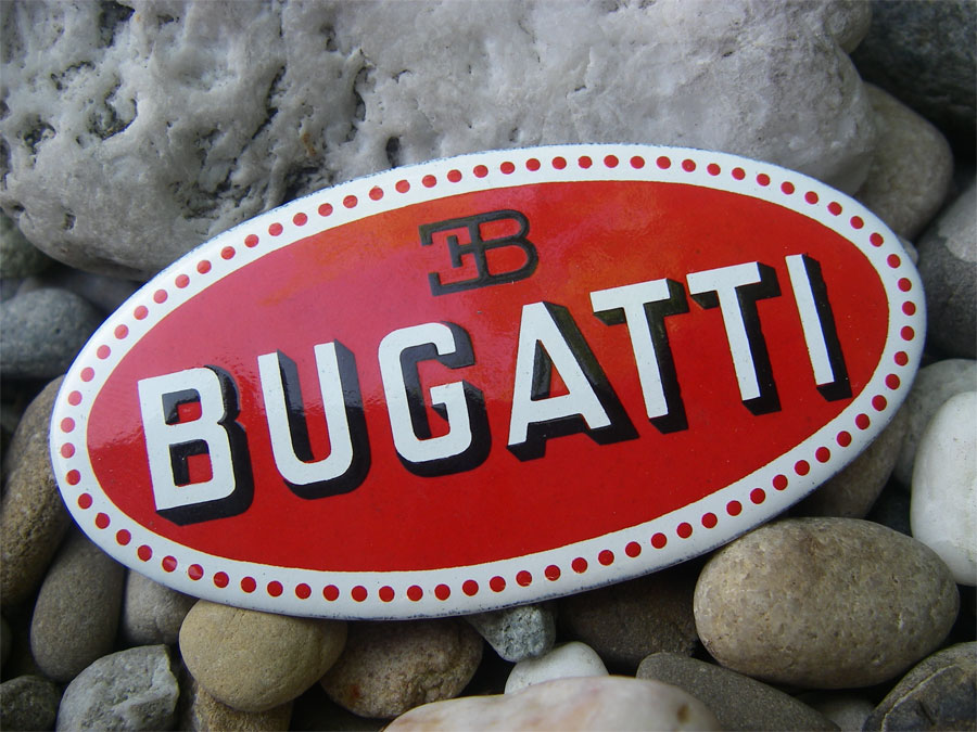 vintage french bugatti eb ettore bugatti car radiator badge emblem plaque ebay. Black Bedroom Furniture Sets. Home Design Ideas