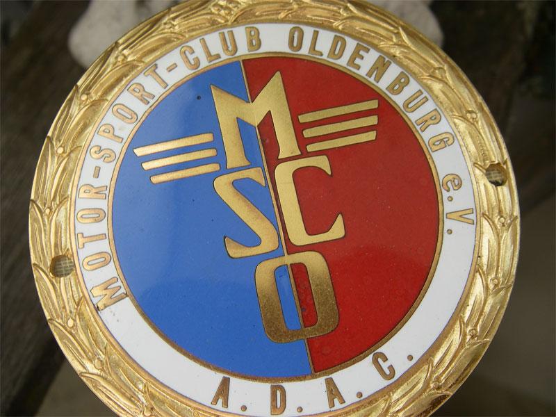 adac msco motor sport club oldenburg alte plakette badge emblem oldtimer ebay. Black Bedroom Furniture Sets. Home Design Ideas
