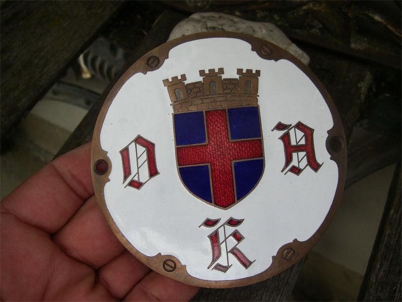 adac oldenburg oak oldenburger automobil klub 1906 plakette badge emblem club ebay. Black Bedroom Furniture Sets. Home Design Ideas